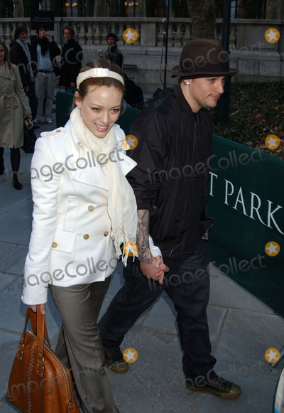 Hilary Duff Photo - Hilary Duff and Joel Madden at the Olympus Fall Fashion Week 2006 - Day