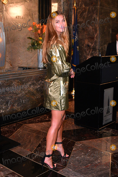 Nina Agdal Photo - September 8 2016 New York CityModel Nina Agdal lights The Empire State Building in honor of International Literacy Day at The Empire State Building on September 8 2016 in New York CityBy Line Curtis MeansACE PicturesACE Pictures IncTel 6467670430