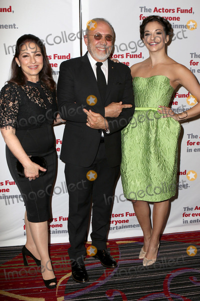 Ana Villafane Photo - April 25 2016 New York City(L-R) Gloria Estefan Emilio Estefan and Ana Villafane arriving at The Actors Fund Gala at the Marriott Marquis Times Square on April 25 2016 in New York CityBy Line Nancy RiveraACE PicturesACE Pictures Inctel 646 769 0430