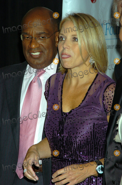 Al Roker Photo - NEW YORK OCTOBER 6  2005     Al Roker and Katie Couric at the TJ Martell Foundation 30th Anniversary Gala held at the Mariott Marquis Hotel