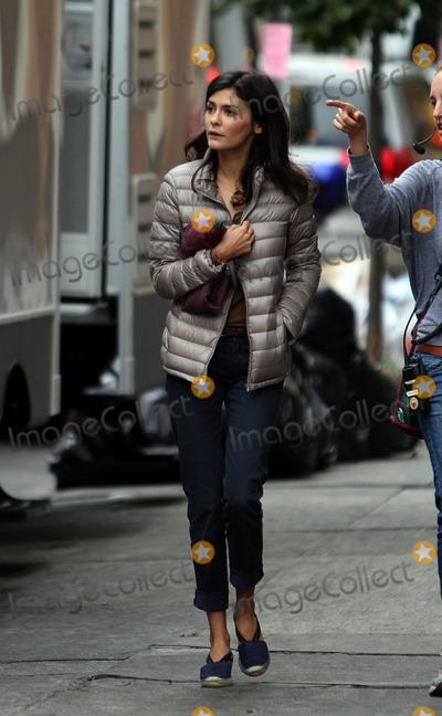 Audrey Tautou Photo - September 20 2012 New York CityActress Audrey Tautou on the set of the new movie Chinese Puzzle on September 20 2012 in New York City