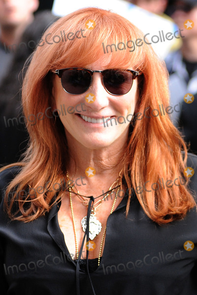 Patti Scialfa Photo - August 6 2015 New York CityPatti Scialfa made an appearance on the Daily Show with Jon Stewart on August 6 2015 in New York City Credit Kristin CallahanACE Picturestel (212) 243 8787 or (646) 769 0430