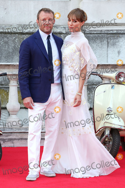 GUY RICHIE Photo - August 7 2015 LondonGuy Richie and Jacqui Ainsley at the Film4 Summer Screen premiere of The Man From UNCLE at Somerset House on August 7 2015 in LondonBy Line FamousACE PicturesACE Pictures Inctel 646 769 0430