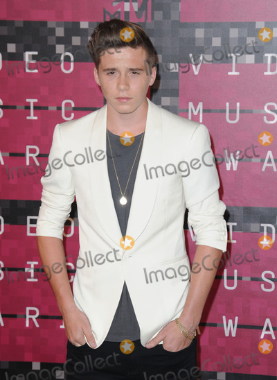 Brooklyn Beckham Photo - August 30 2015 LABrooklyn Beckham arriving at the 2015 MTV Video Music Awards at the Microsoft Theater on August 30 2015 in Los Angeles CaliforniaBy Line Peter WestACE PicturesACE Pictures Inctel 646 769 0430