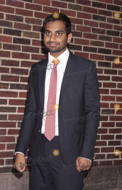 Aziz Ansari Photo - Actor and comedian Aziz Ansari made an appearance at the Late show with David Letterman on October 13 2009 in New York City