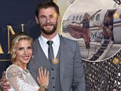 Axel Bauer Photo - WESTWOOD CA - APRIL 11  Actors Elsa Pataky and Chris Hemsworth arrive at the premiere of Universal Pictures The Huntsman Winters War on April 11 2016 in Westwood California  (Photo by AxelleBauer-GriffinFilmMagic)
