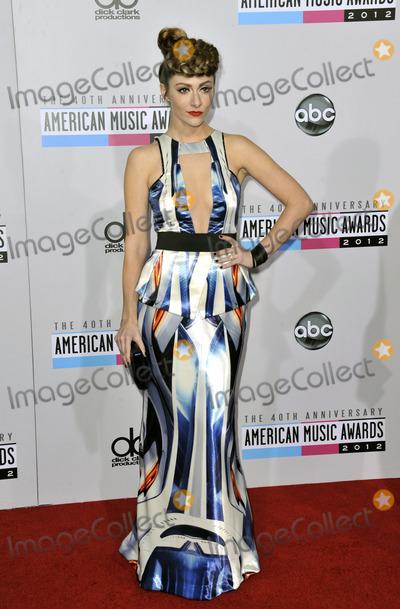 Amy Heidemann Photo - November 18 2012 LAAmy Heidemann arriving at the 40th Anniversary American Music Awards at Nokia Theatre LA Live on November 18 2012 in Los Angeles California
