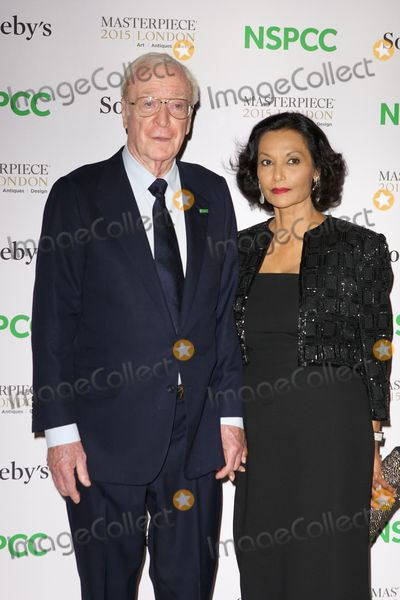 Shakira Caine Photo - June 30 2015 LondonSir Michael Caine and Shakira Caine arriving at the Neo-Romantic Art Gala in aid of the NSPCC at the Royal London Hospital in Chelsea on June 30 2015 in LondonBy Line FamousACE PicturesACE Pictures Inctel 646 769 0430