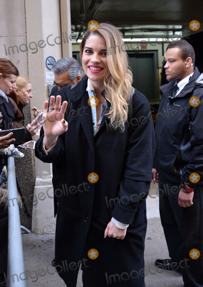 Annie Murphy Photo - March 16 2016 New York CityAnnie Murphy from the TV show Schitts Creek made an appearance at AOL on March 16 2016 in New York CityBy Line Curtis MeansACE PicturesACE Pictures Inctel 646 769 0430