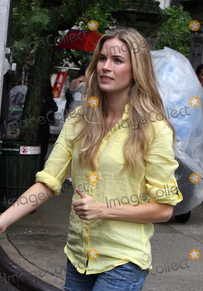 Alice Callahan Photo - Actress Katie Callahan on the Upper West Side set of the new season of the hit show Gossip Girl on July 13 2010 in New York City