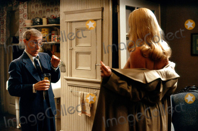 Charlize Theron Photo - Publicity Stills WOODY ALLEN and CHARLIZE THERON in Woody Allens comedy THE CURSE OF THE JADE SCORPION
