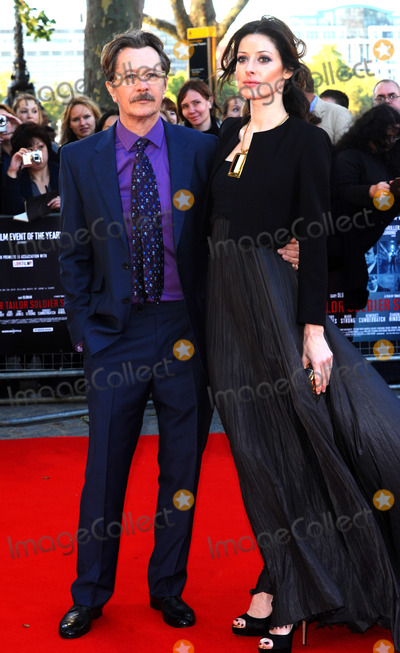 Alex Edenborough Photo - Gary Oldman and Alex Edenborough arriving at the UK premiere of Tinker Tailor Soldier Spy at BFI Southbank on September 13 2011 in London England
