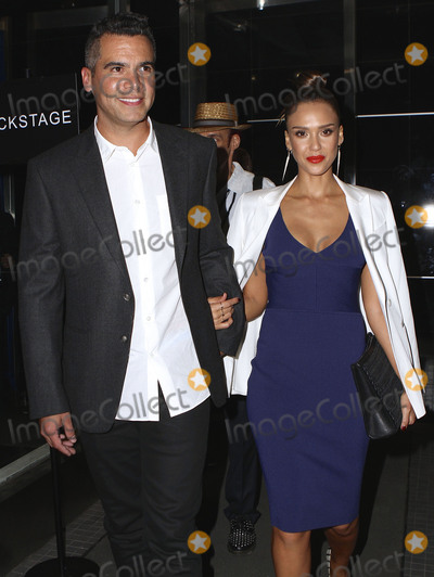 Narciso Rodriguez Photo - September 15 2015 New York CityJessica Alba and Cash Warren arriving at the Narciso Rodriguez Spring 2016 fashion show during New York Fashion Week at SIR Stage 37 on September 15 2015 in New York CityBy Line Nancy RiveraACE PicturesACE Pictures Inctel 646 769 0430
