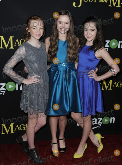 Abby Donnelly Photo - January 14 2016 LAAbby Donnelly Olivia Sanabia Aubrey Miller arriving at the premiere of Amazons Just Add Magic at the ArcLight Hollywood on January 14 2016 in Hollywood California By Line Peter WestACE PicturesACE Pictures Inctel 646 769 0430