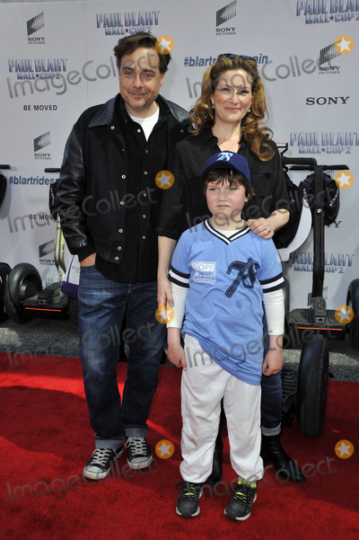 Ana Gasteyer Photo - April 11 2015 New York CityCharlie McKittrick and Ana Gasteyer with Son arriving at the Paul Blart Mall Cop 2 New York Premiere at AMC Loews Lincoln Square on April 11 2015 in New York CityBy Line Curtis MeansACE PicturesACE Pictures Inctel 646 769 0430