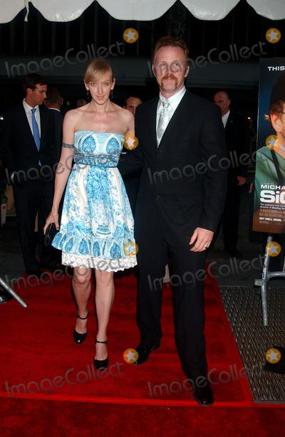 Alex Morgan Photo - Alex SpurLock and Morgan Spurlock arrive at the New York premiere of Sicko held at the Ziegfeld Theatre