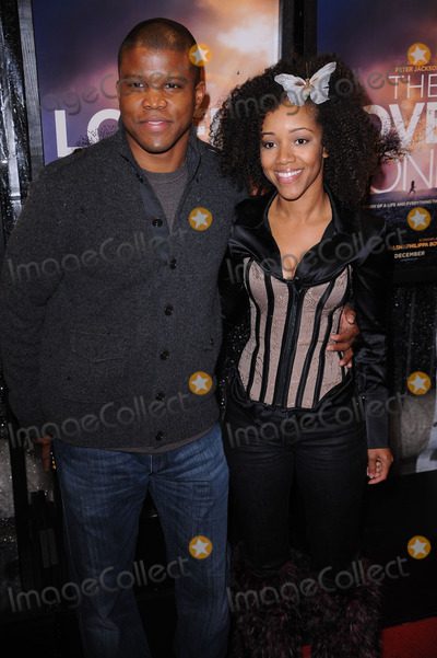Chrystee Pharris Photo - Sharif Atkins and Chrystee Pharris arriving at the The Lovely Bones premiere at the Paris Theatre on December 2 2009 in New York City
