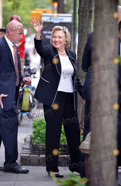 Hillary Rodham Photo - June 30 2015 New York CityHillary Rodham Clinton leaves a Manhattan restaurant on June 30 2015 in New York CityPlease byline Curtis MeansACE PicturesACE Pictures Inc Tel 646 769 0430