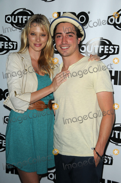 April Bowlby Photo - Actors April Bowlby and Ben Feldman arriving at a screening of Drop Dead Diva at the 29th annual Gay  Lesbian Film Festival at Directors Guild Of America on July 17 2011 in Los Angeles California