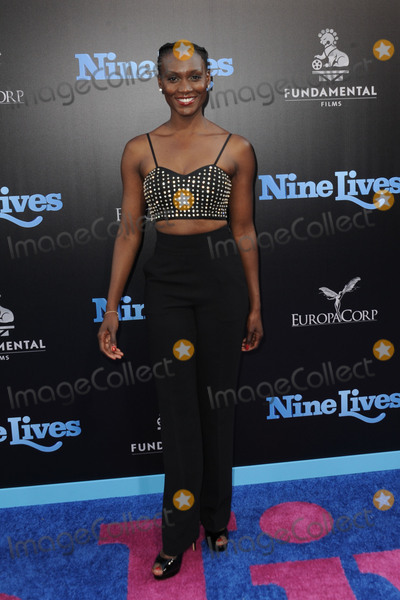 Jewelle Blackman Photo - August 1 2016 LAJewelle Blackman at the premiere Of Nine Lives at the TCL Chinese Theatre on August 1 2016 in Hollywood CaliforniaBy Line Peter WestACE PicturesACE Pictures IncTel 6467670430