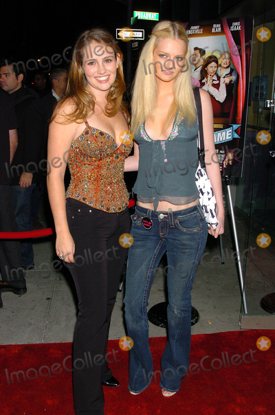 Jillian Hearst Photo - NEW YORK SEPTEMBER 22 2004 Lydia Hearst and Jillian Hearst attending New York premiere of A Dirty Shame