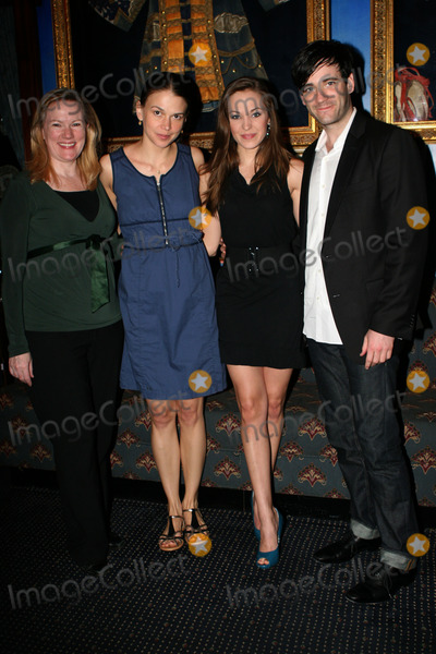 Astaire Photo - Katheleen Marshall Sutton Foster Laura Osnes and Nick Admas at the Fred and Adele Astaire Awards Nominees anouncements on April 26 2011 in New York City