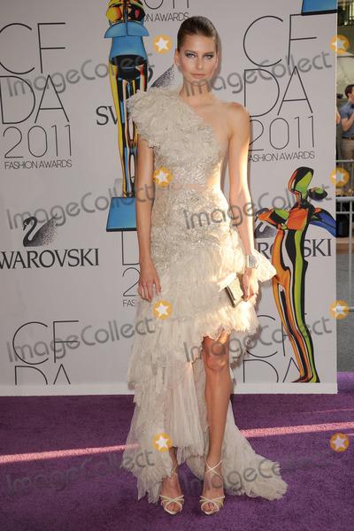 Hana Soukupova Photo - Hana Soukupova attends the 2011 CFDA Fashion Awards at Alice Tully Hall Lincoln Center on June 6 2011 in New York City