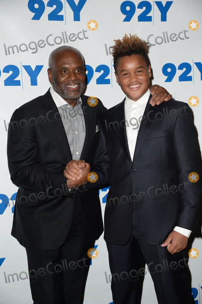L A Reid Photo - February 2 2016 New York CityL A Reid and Aaron Reid attending the L A Reid in conversation with Gayle King and special guest Meghan Trainor event at 92Y on February 2 2016 in New York CityCredit Kristin CallahanACE PicturesTel (646) 769 0430