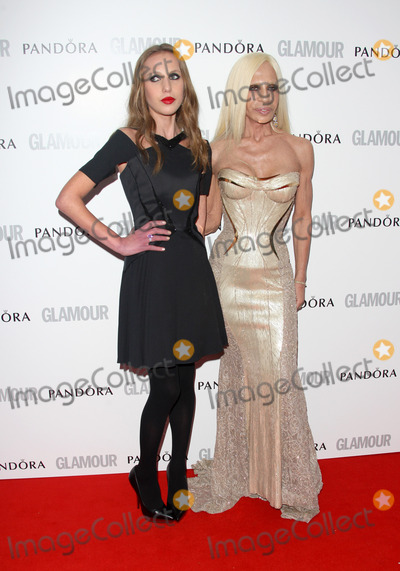 Allegra Versace Photo - May 29 2012 LondonAllegra Versace and Donatella Versace at The Glamour Women of the Year Awards 2012 on May 29 2012 in London
