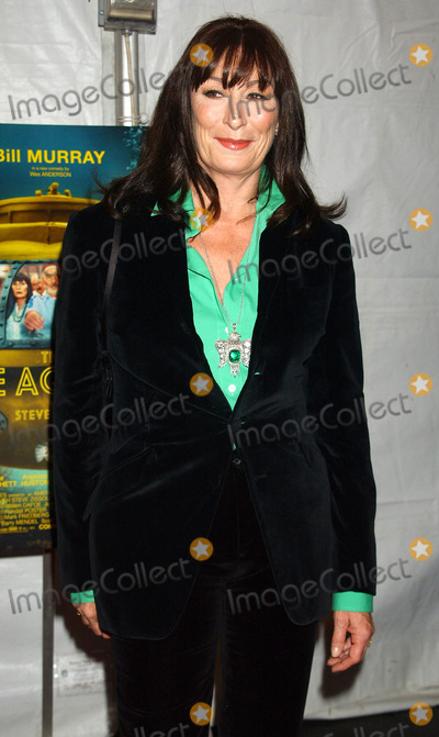 Angelica Huston Photo - NEW YORK DECEMBER 9 2004    Angelica Huston at the NYC premiere of The Life Aquatic with Steve Zissou at the Ziegfeld Theater