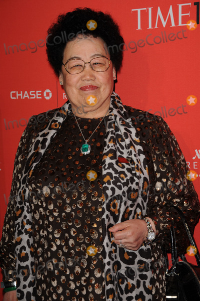 Chen Lihua Photo - April 24 2012 New York City Chen Lihua arriving to the TIME 100 Gala celebrating TIMES 100 Most Influential People In The World at Jazz at Lincoln Center on April 24 2012  in New York City