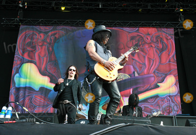Myles Kennedy Photo - Myles Kennedy and Slash perform live during the final day of the Wireless Festival in Hyde Park on July 4 2010 in London