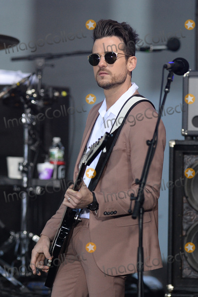 Jared Followill Photo - October 14 2016 New York CityKings of Leon Jared Followill performing on NBCs Today at Rockefeller Plaza on October 14 2016 in New York City Credit Kristin CallahanACE PicturesTel (646) 769 0430