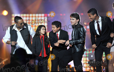 Prince Michael Jackson Photo - Prince Michael Jackson II and Michael Joseph Jackson Jr aka Blanket  at the Michael Forever tribute concert on October 8 2011in Cardiff Wales