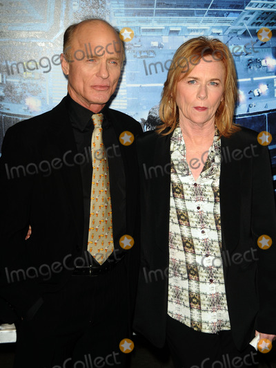 Amy Madigan Photo - Harris and Amy Madigan arriving at the premiere of  Man On A Ledge at Graumans Chinese Theatre on January 23 2012 in Hollywood California