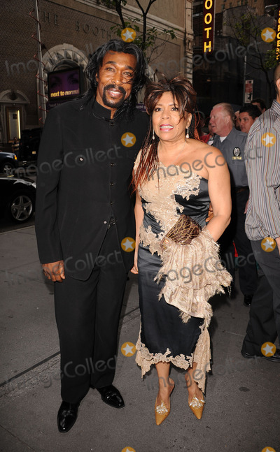 Nickolas Ashford Photo - Songwriters Nickolas Ashford and Valerie Simpson arriving at the 41st Annual Songwriters Hall of Fame Ceremony at The New York Marriott Marquis on June 17 2010 in New York City