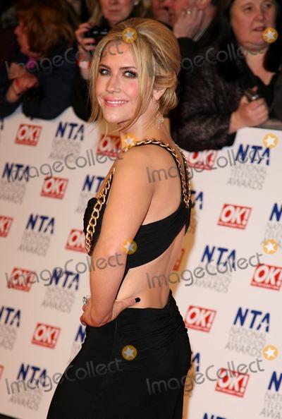 Heidi Range Photo - Heidi Range arriving for the National Television Awards O2 London 25012012 Picture by Alexandra Glen  Featureflash