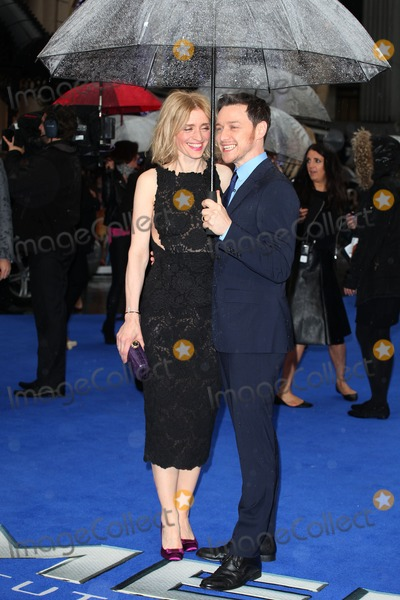 Anne Marie Duff Photo - James McAvoy and Anne Marie Duff arriving the UK Premiere of X-Men Days of Future Past at Odeon Leicester Square London 12052014 Picture by Alexandra Glen  Featureflash