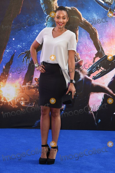 Amal Fashanu Photo - Amal Fashanu arrives for the Guardians of the Galaxy premiere at the Empire Leicester Square London 24072014 Picture by Steve Vas  Featureflash
