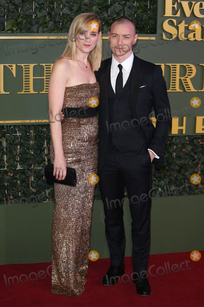 Anne-Marie Duff Photo - Anne-Marie Duff James McAvoy at the London Evening Standard Theatre Awards 2015 at the Old Vic Theatre LondonNovember 22 2015  London UKPicture James Smith  Featureflash