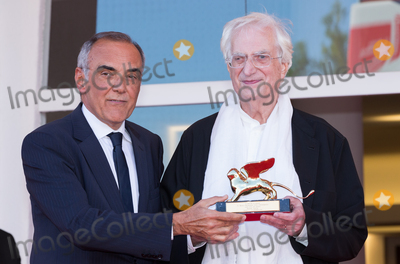 Alberto Barbera Photo - French director Bertrand Tavernier Venice Film Festival director Alberto Barbera at a special screening of Taverniers 1989 movie Life And Nothing But (La vie et rein dautra) He was awarded with the Golden Lion For Lifetime Achievement 2015 at a ceremony at the 2015 Venice Film FestivalSeptember 8 2015  Venice ItalyPicture Kristina Afanasyeva  Featureflash
