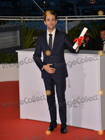 Xavier Dolan Photo - Director Xavier Dolan winner of The Grand Prix for Its Only the End of the World at the winners photocall at the 69th Festival de CannesMay 22 2016  Cannes FrancePicture Paul Smith  Featureflash