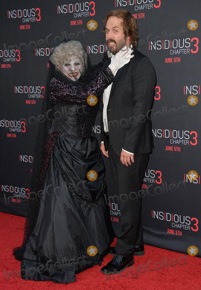 Angus Sampson Photo - Angus Sampson  The Black Bride at the world premiere of their movie Insidious Chapter 3 at the TCL Chinese Theatre HollywoodJune 5 2015  Los Angeles CAPicture Paul Smith  Featureflash