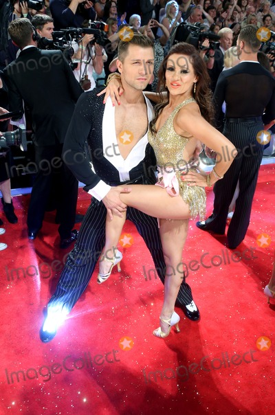 Anya Garnis Photo - Anya Garnis and Pasha Kovalev arriving for Strictly Come Dancing red carpet launch event held at Elstree studios London 03092013 Picture by Alexandra Glen  Featureflash