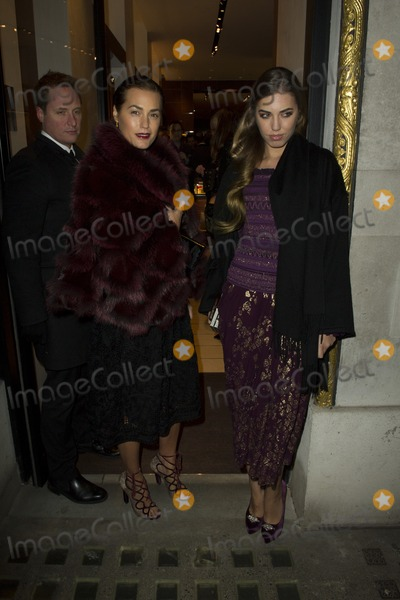 Amber Le Bon Photo - Yasmin and Amber Le Bon arriving for the Salvatore Ferragamo London Flagship Store Launch Party Old Bond Street  London 05122012 Picture by Simon Burchell  Featureflash