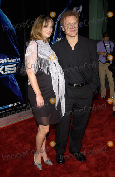 Andrew Stevens Photo - Actorproducer ANDREW STEVENS  wife at the world premiere in Los Angeles of Ballistic Ecks vs Sever18SEP2002   Paul Smith  Featureflash