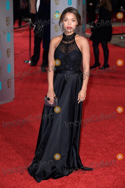 Antonia Thomas Photo - Antonia Thomas arriving for the BAFTA Film Awards 2016 at the Royal Opera House Covent Garden LondonFebruary 14 2016  London UKPicture Steve Vas  Featureflash