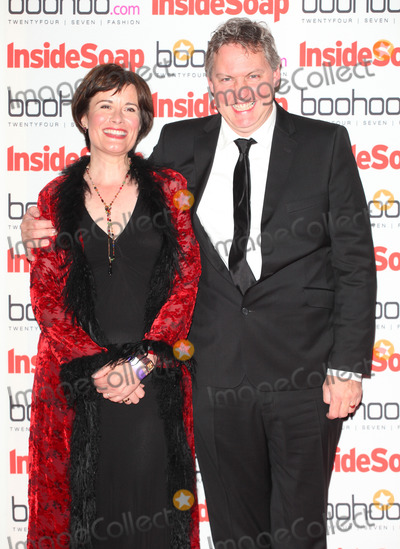 Catherine Russell Photo - Catherine Russell and Bob Barratt arriving for the 2012 Inside Soap Awards at No1 Marylebone London 24092012 Picture by Alexandra Glen  Featureflash