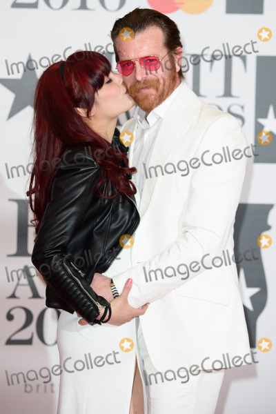 Jesse Hughes Photo - Tuesday Cross  Jesse Hughes (Eagles of Death Metal) at The BRIT Awards 2016 at the O2 Arena LondonFebruary 24 2016  London UKPicture Steve Vas  Featureflash