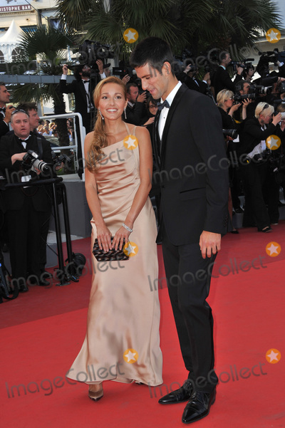 Novak Djokovic Photo - Novak Djokovic  Jelena Ristic at the gala premiere of The Beaver in competition at the 64th Festival de CannesMay 17 2011  Cannes FrancePicture Paul Smith  Featureflash